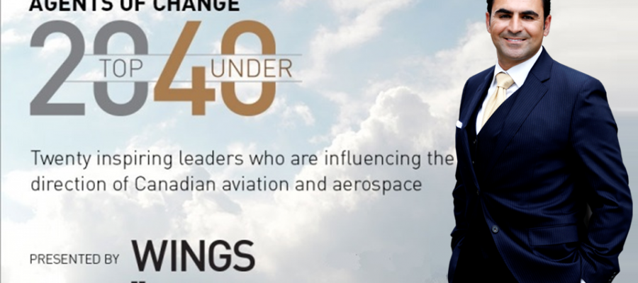 Malak Sedra – Canada's Top 20 Under 40 by Wings Magazine